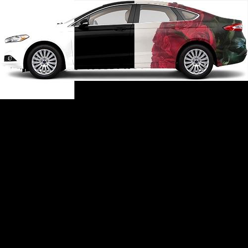 Sedan Wrap #39118