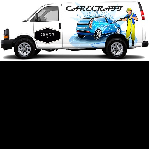 Cargo Van Wrap #43173