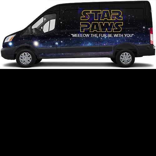 Transit Van Wrap #44188