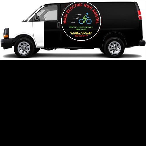 Cargo Van Wrap #44435