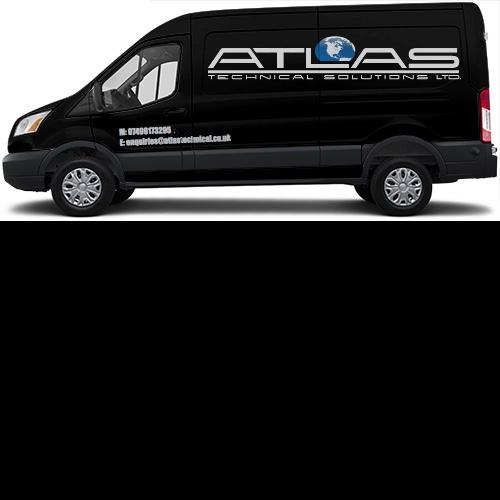 Transit Van Wrap #45106