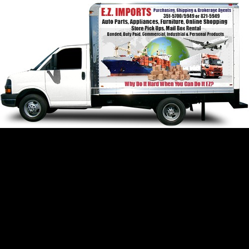 Customize Your Own Car Online >> Box Truck Wrap Custom Design 45178 By New Designer 44965 Design