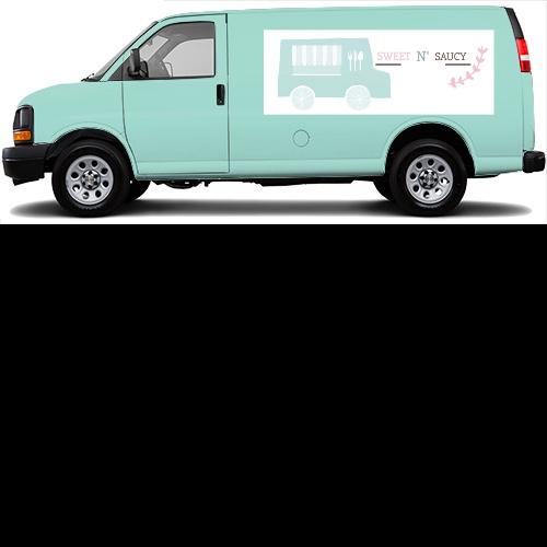 Cargo Van Wrap #46732