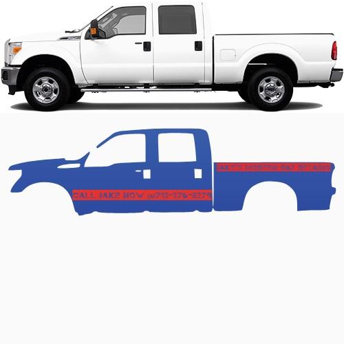 Truck Wrap #47449
