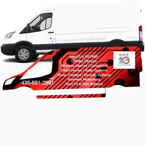 Transit Van Wrap #47453
