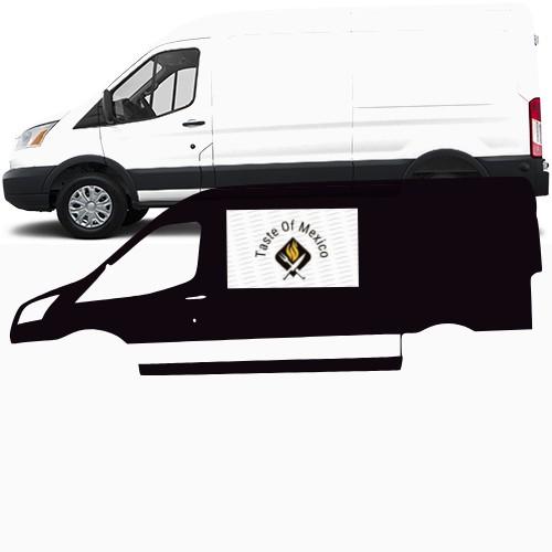 Transit Van Wrap #47465