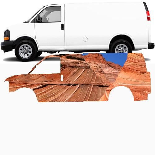 Cargo Van Wrap #47845