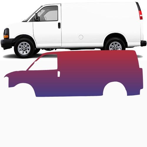 Cargo Van Wrap #48015