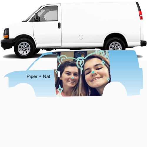 Cargo Van Wrap #48021