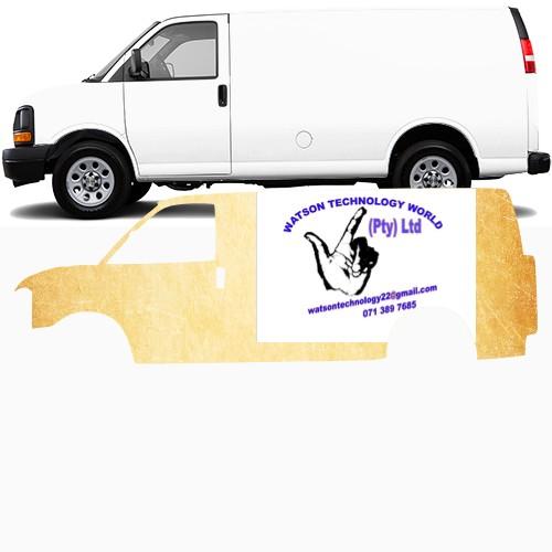 Cargo Van Wrap #48042