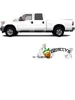 smittysbeardsauce.com Truck Wrap