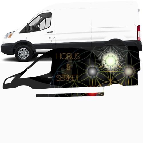 Transit Van Wrap #48461