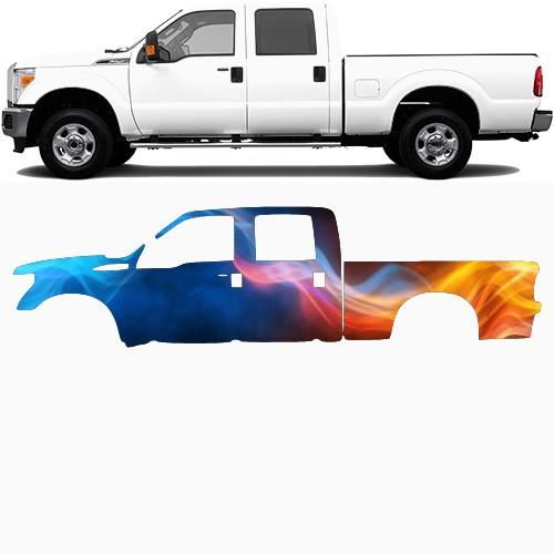 Truck Wrap #48511