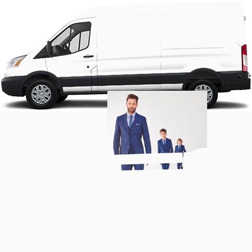 Transit Van Wrap #48686