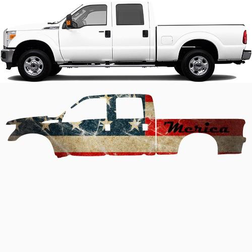 Truck Wrap #48897