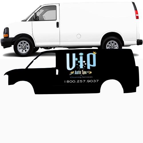 Cargo Van Wrap #48919