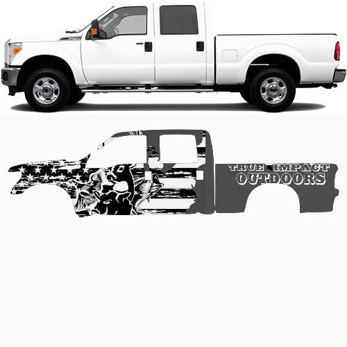 Truck Wrap #49017
