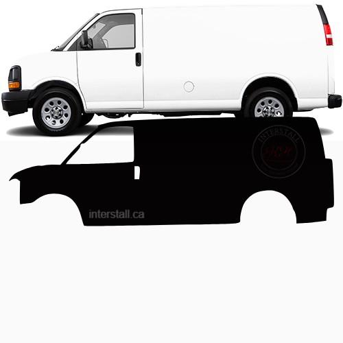 Cargo Van Wrap #49155