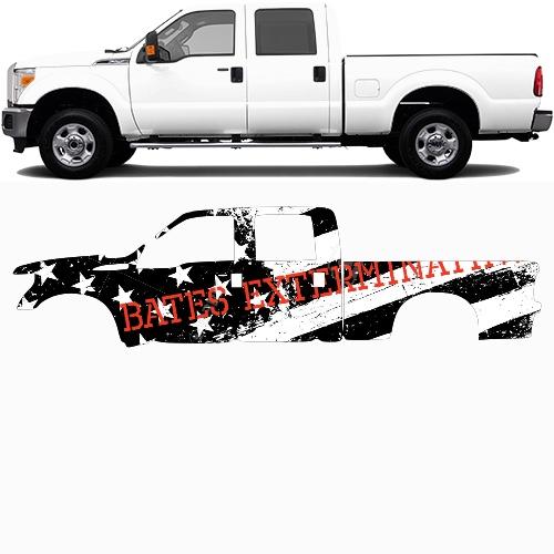 Truck Wrap #49181