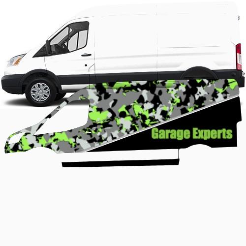 Transit Van Wrap #49213