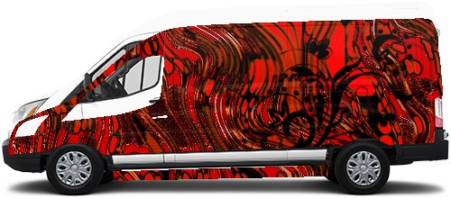 Transit Van Wrap #49334