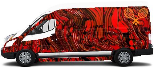 Transit Van Wrap #49342