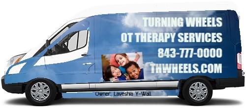 Transit Van Wrap #49443