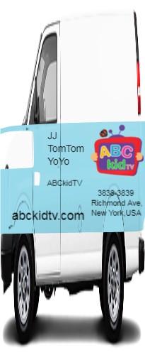 Cargo Van Wrap #49457