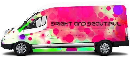 Transit Van Wrap #49462