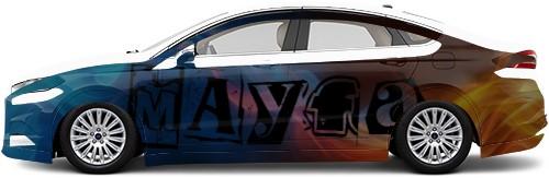 Sedan Wrap #49489