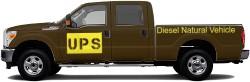 UPS F-350 Truck Wrap