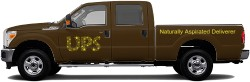UPS Ford V2 Truck Wrap
