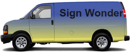 Cargo Van Wrap #50104