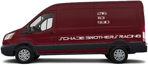 Transit Van Wrap #50192