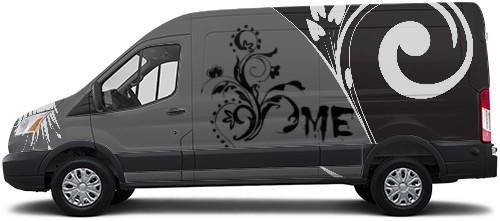 Transit Van Wrap #50197