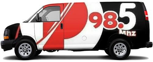 Cargo Van Wrap #50353