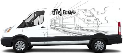 Transit Van Wrap #50402