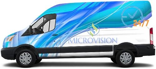 Transit Van Wrap #50500
