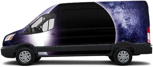 Transit Van Wrap #50549