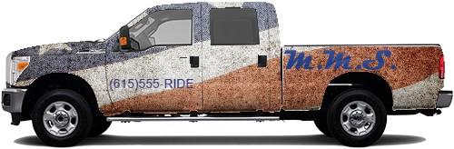 Truck Wrap #50701