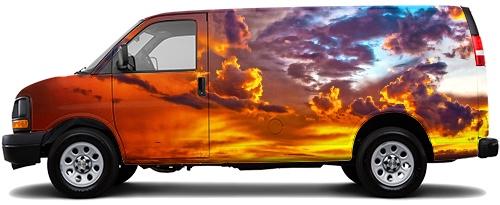 Cargo Van Wrap #50750