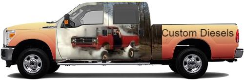 Truck Wrap #50957