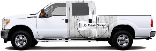 Truck Wrap #51462