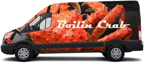 Transit Van Wrap #51611