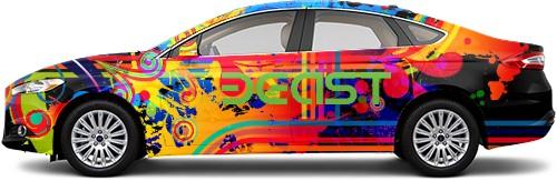 Sedan Wrap #51703