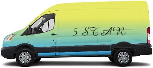 Transit Van Wrap #52005