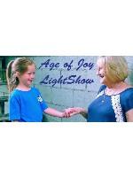 """Age of Joy Car Decal 48""""W x 24""""H"""