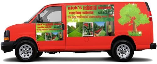 Cargo Van Wrap #52356