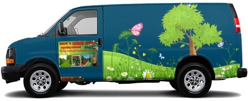Cargo Van Wrap #52476