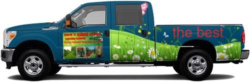 Truck Wrap #52477